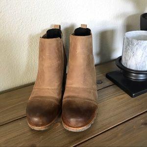 9e9a3f7dc2ae Sorel Shoes - Sorel Lea wedge ankle bootie - Elk